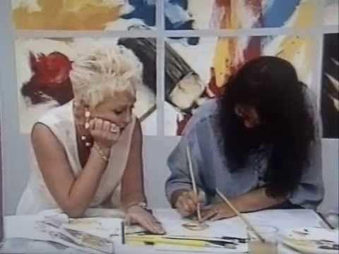 Pintura Bia Moreira Programa Note E Anote Youtube Pinturas A
