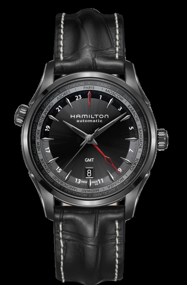 c7578ee18fa Montre hamilton Jazzmaster GMT Auto, limited edition | Đồng hồ thời ...