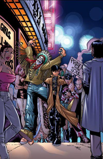 Crimson #2 by Humberto Ramos | Comic art community. Comic artist