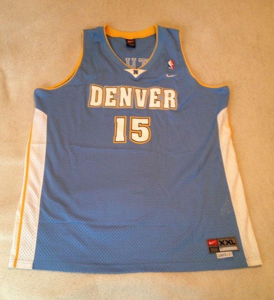 best service 4a993 f080a Nike Vintage Carmelo Denver Nuggets Rookie Swingman Jersey ...