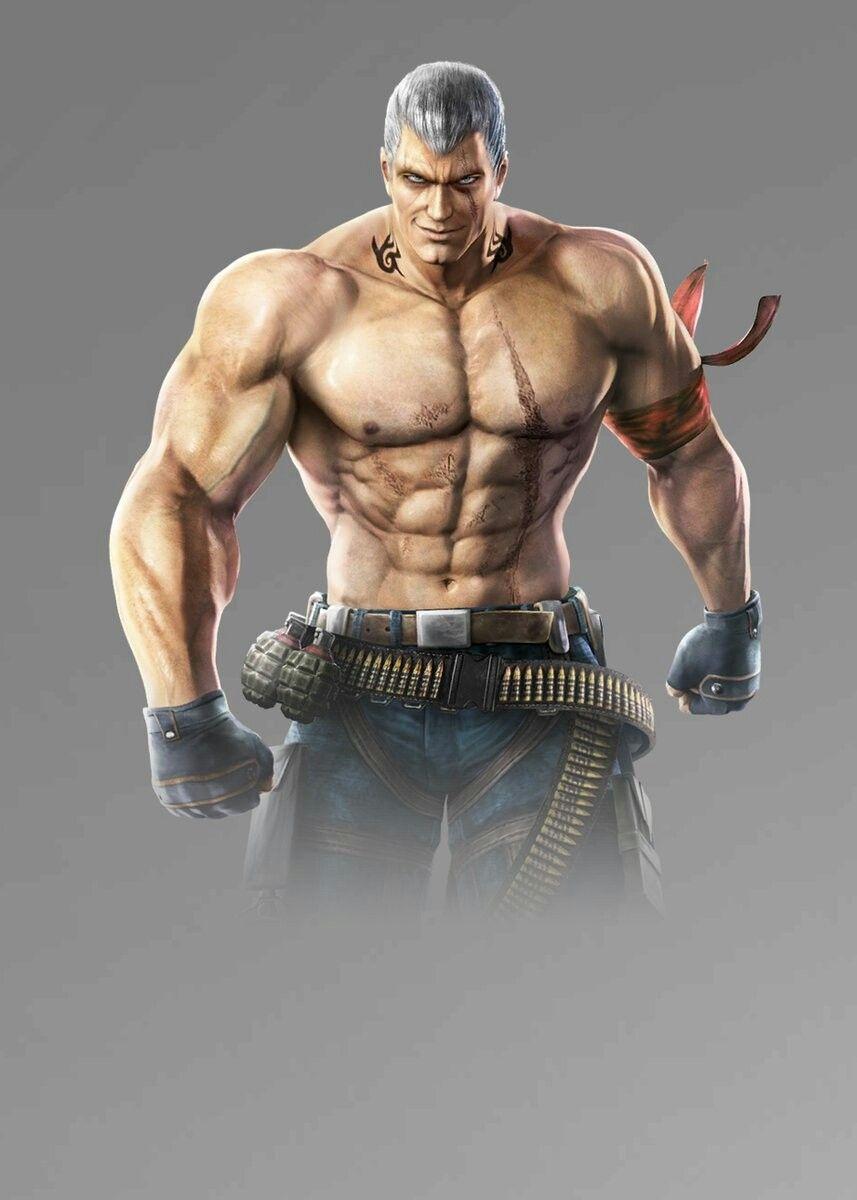 Bryan Fury Tekken Mobile Animasi Gambar