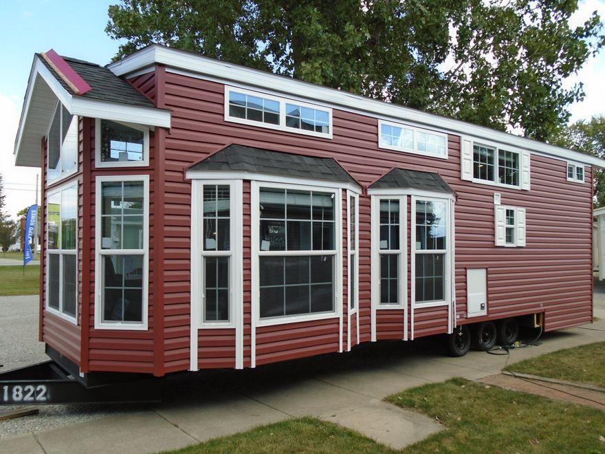 Buckeye Loft Mobile Home Park model homes, Park models