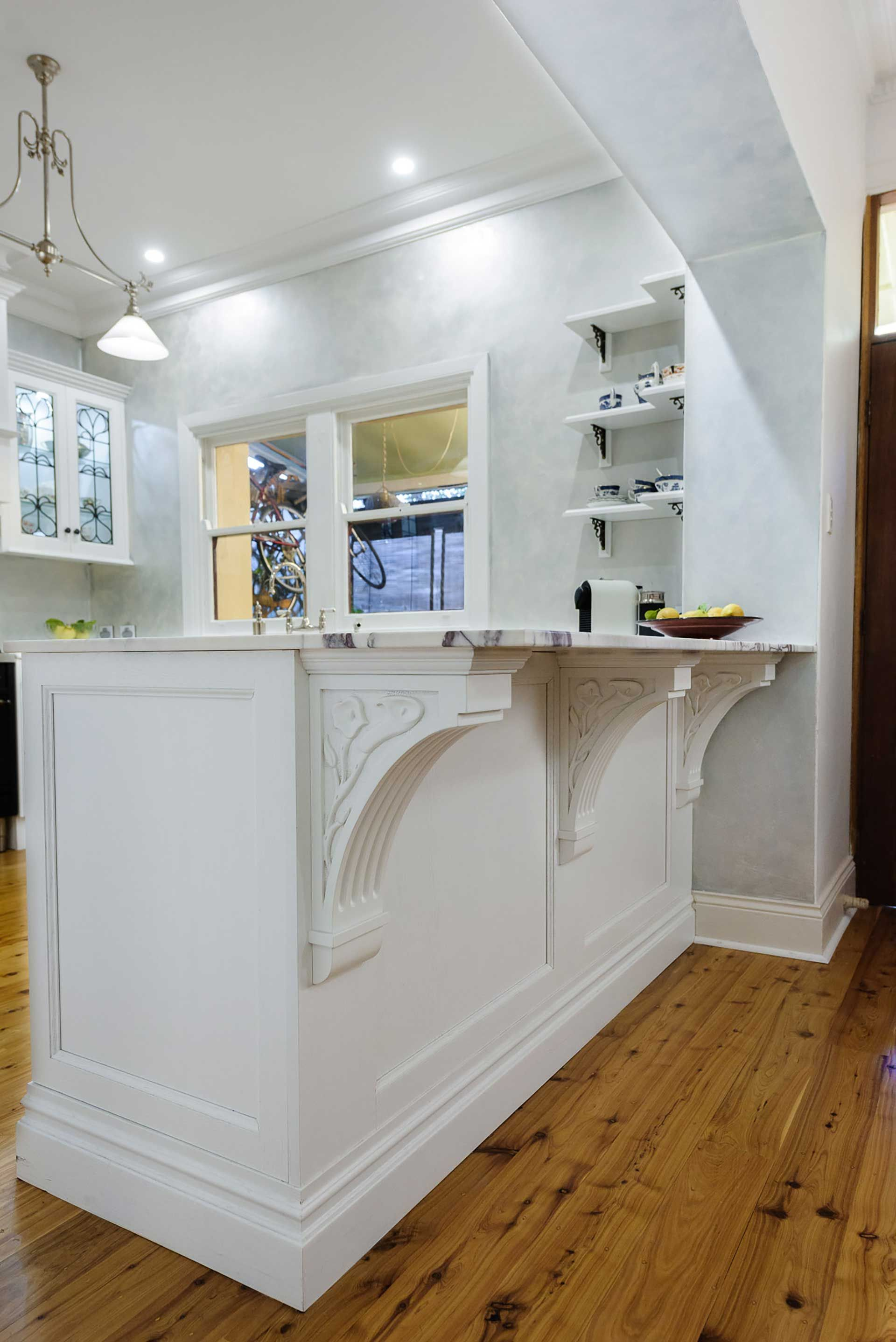 Kitchens Alby Turner Son Bespoke Cabinetry Corbels Under The Bench Overhang Beautiful Kitchens Kitchen Kitchen Projects