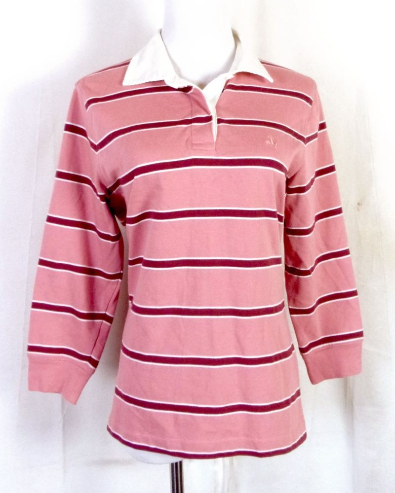 Casual pink dress shirt  vtg s s Brooks Brothers Green Blue Red Striped Shetland Wool