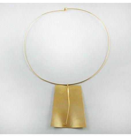 Goddess Pendant - 24kt Gold Plated