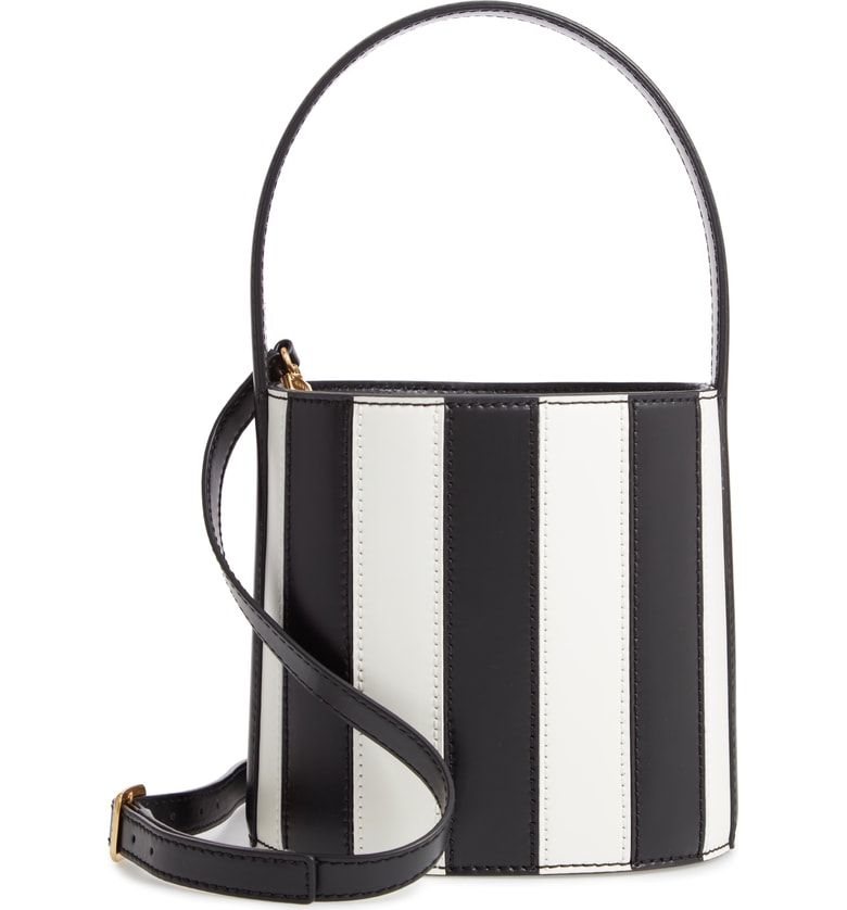 Color Blocking · Free shipping and returns on STAUD Bissett Stripe Leather  Bucket Bag at Nordstrom.com. eb93f7207e015