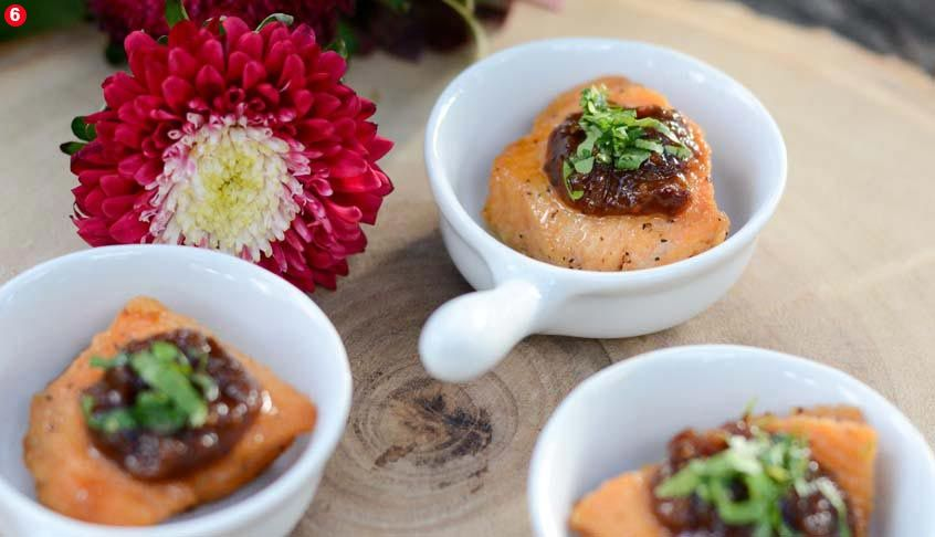 Cuisine: Bite-Sized Appetizers salmon bites