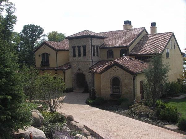 9d5836fe3903f3cac0c229a8a1bb2b23 one story tuscany rustic homes tuscan dream home this amazing,Rustic One Story House Plans