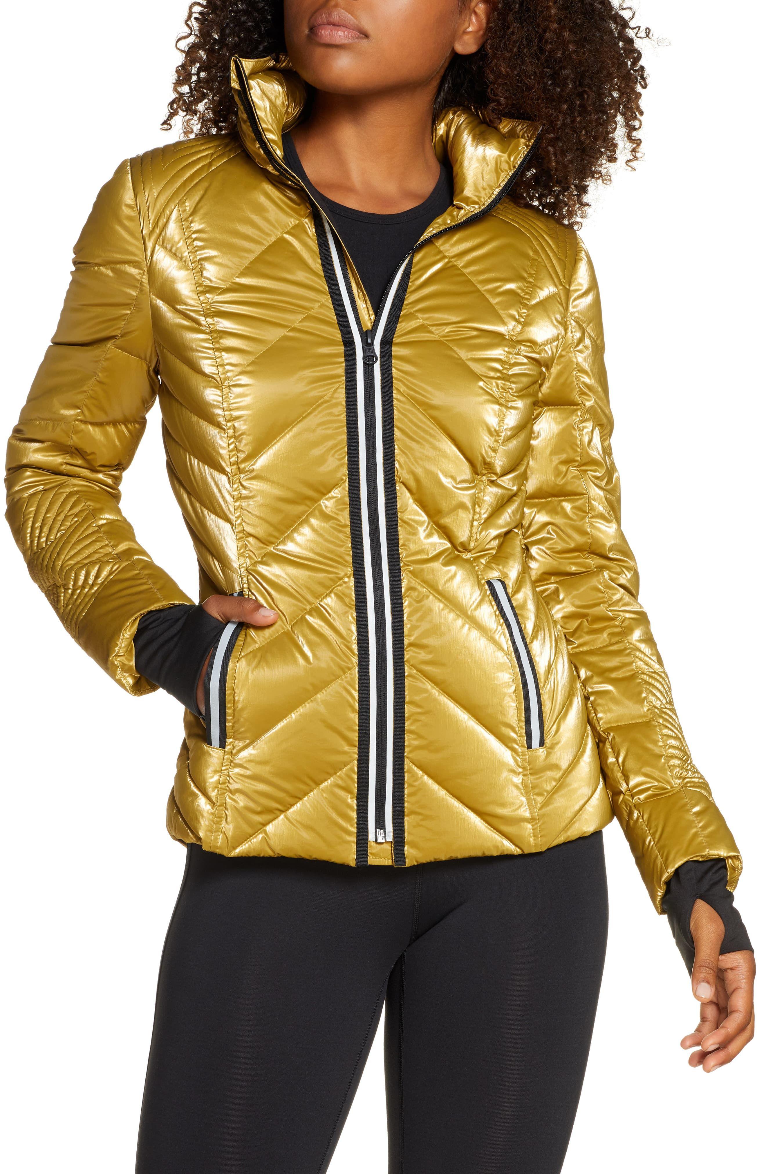Blanc Noir Reflective Down Puffer Jacket Sporty Jacket Puffer Jacket Style Fashion Clothes Women [ 4048 x 2640 Pixel ]