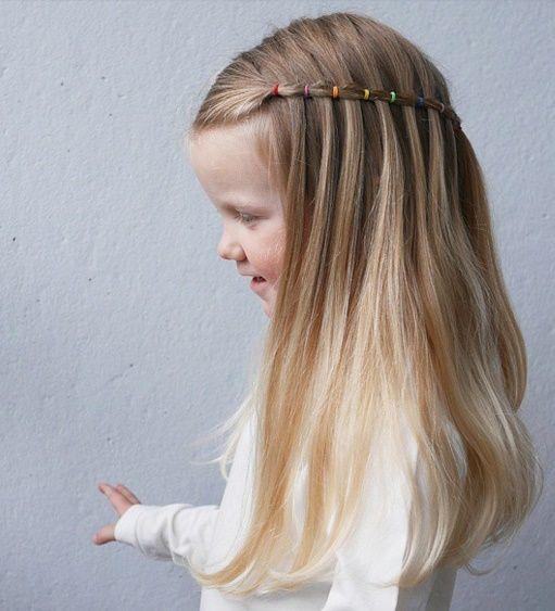 Peinados de ni a con ligas tendencia infantil en peinados - Peinados para ninas faciles de hacer ...