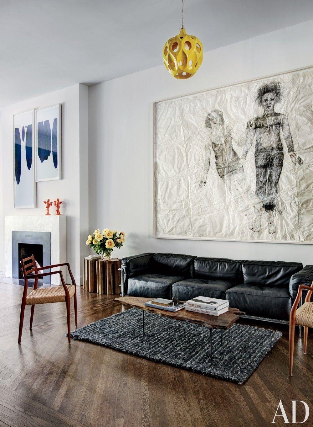 Phataf Black Sofa Living Room Leather Sofa Living Room Modern Living Room Black