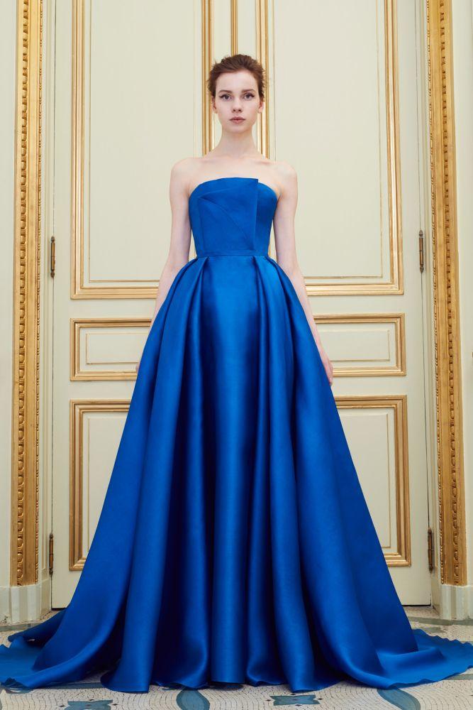 """The """"I wish"""" bridesmaid dress. Love the color. Rami Al Ali Spring 2016 Couture"""