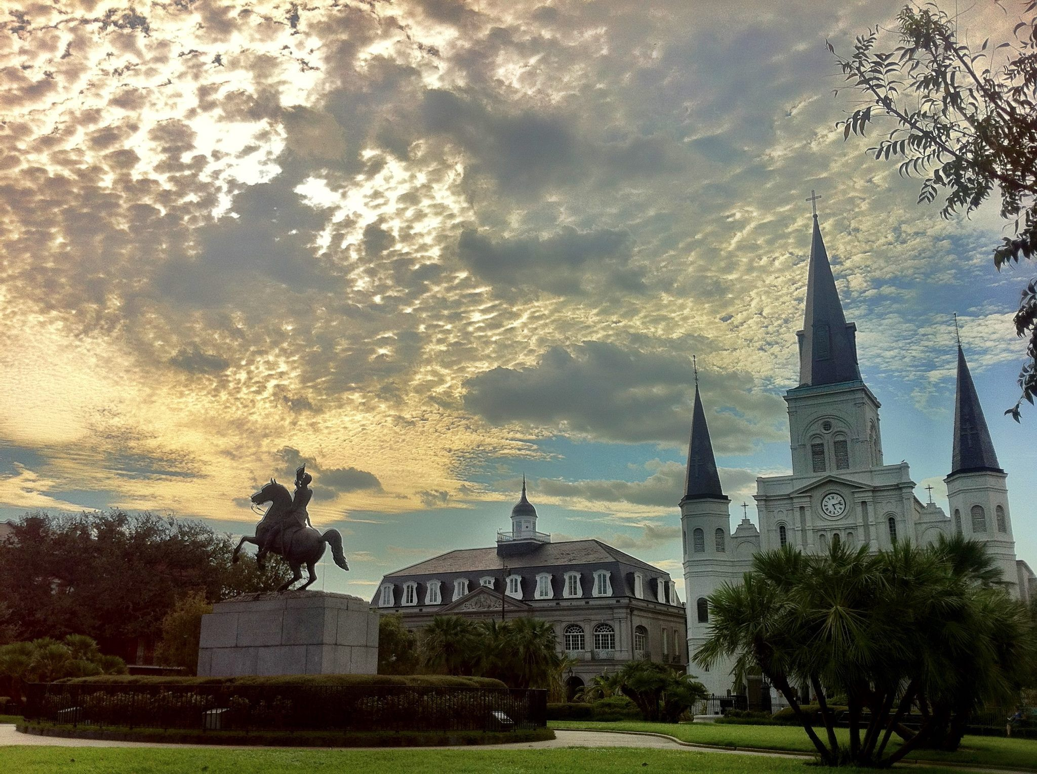 New Orleans, Every year, the square hosts the French Quarter ...