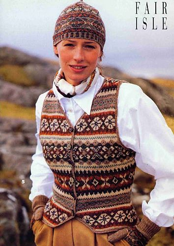 Ravelry: Woman's Fair Isle Vest pattern by Lori Ihnen | Oděvy ...
