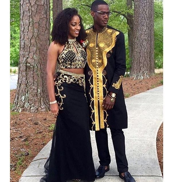 Natural Black Girl Fashion: 20 Amazing Prom Dresses & Hairstyles For Black Girls 2016