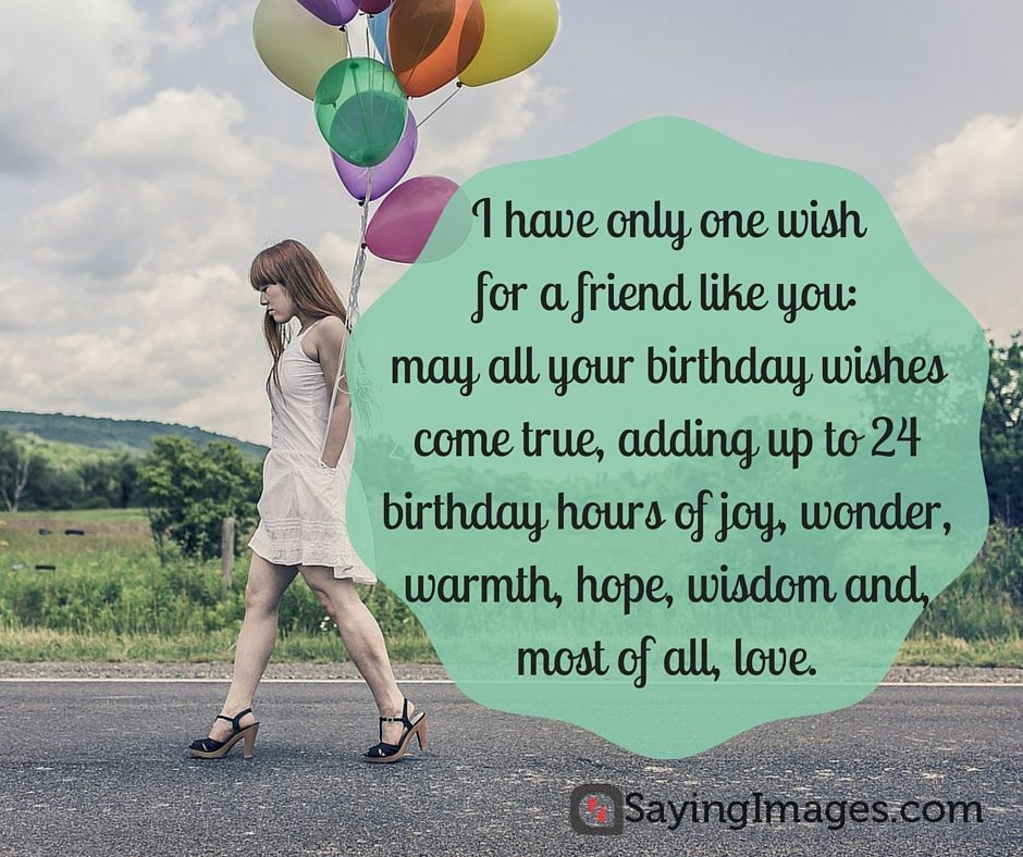 Birthday Wishes For Best Friend Quotes Tumblr: 20 Birthday Wishes For A Friend (pin And Share!)