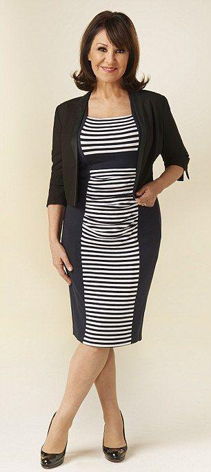Dress, £89, phase-eight.co.uk; Patent heels, £525, christianlouboutin.com