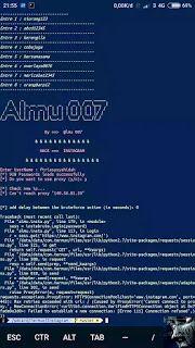 hack wifi pakai terminal emulator