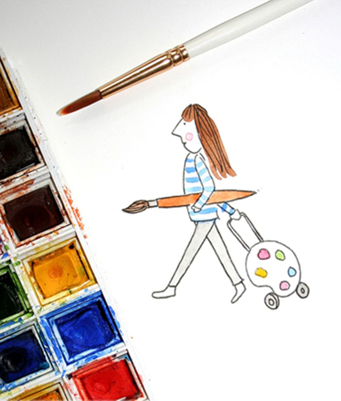 How To Paint With Watercolors For Beginner The Art 123