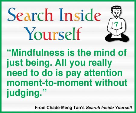Lesson 7 Learn To Search Inside Yourself With Google S Mindfulness Pioneer Chade Meng Tan For More Info Bit Ly S Wisdom Books Words Of Wisdom Funny Quotes