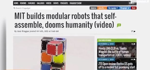 SelfAssembling Cubes MIT MIT Scientists Create Self