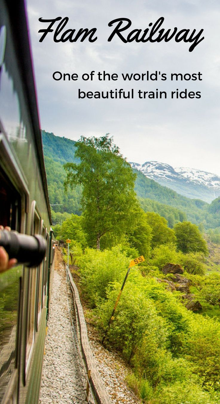 Norway Train Norway S Flam Railway A Beautiful Train Ride Pin Up Live