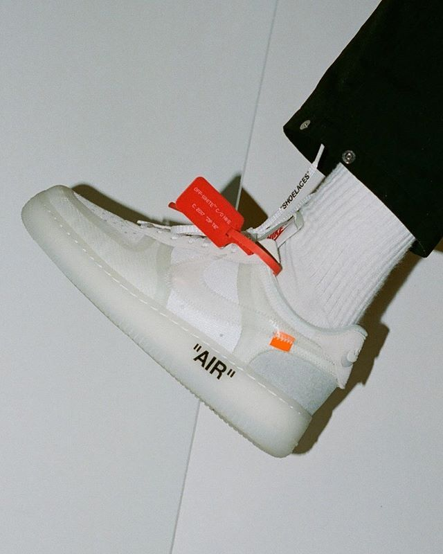 7d89e349cd83 Nike surprise-dropped its Virgil Abloh x Nike Air Force 1 Low in New York