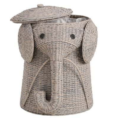 Home Decorators Collection Animal 20.5 in. W Grey Laundry ...