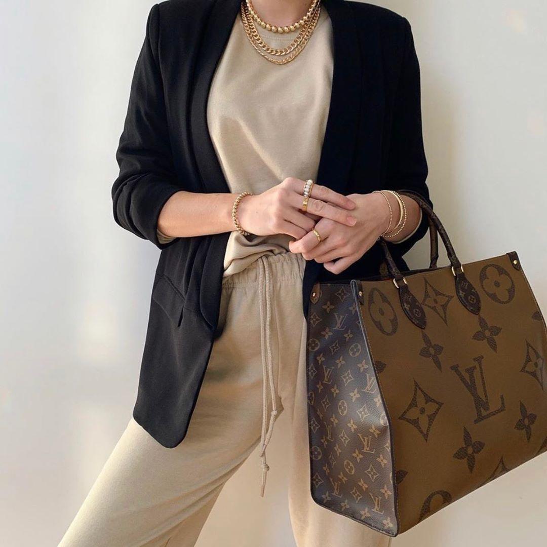 Louis Vuitton Onthego Large Best Casual Crossbody Handbags Louis Vuitton Bag Neverfull Louis Vuitton Fashion Brand
