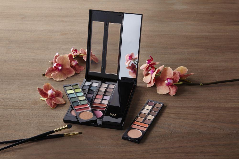 Tchibo Badezimmer ~ Für zu hause und unterwegs schminkkassette inkl. make up box für