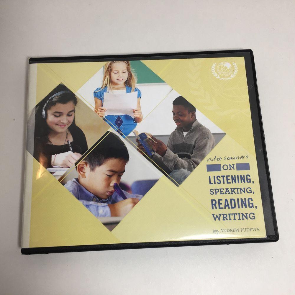 IEW Video Seminars On Listening, Speaking, Reading, Writing by Andrew Pudewa