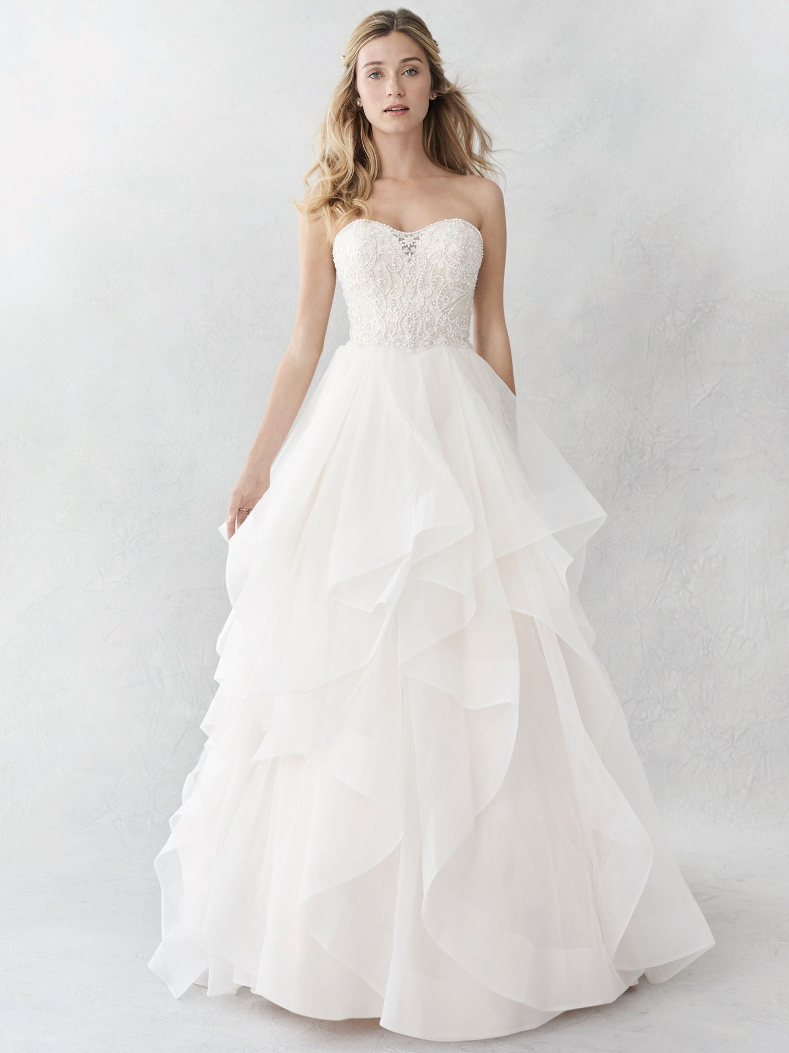 Ella Rosa Style Be361 Beaded Bodice With Flowy Skirt