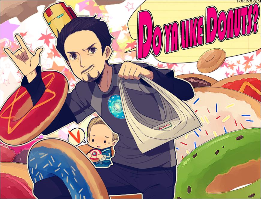 Avengers :: DONUT PUNCH by Cartooom-TV.deviantart.com on @deviantART