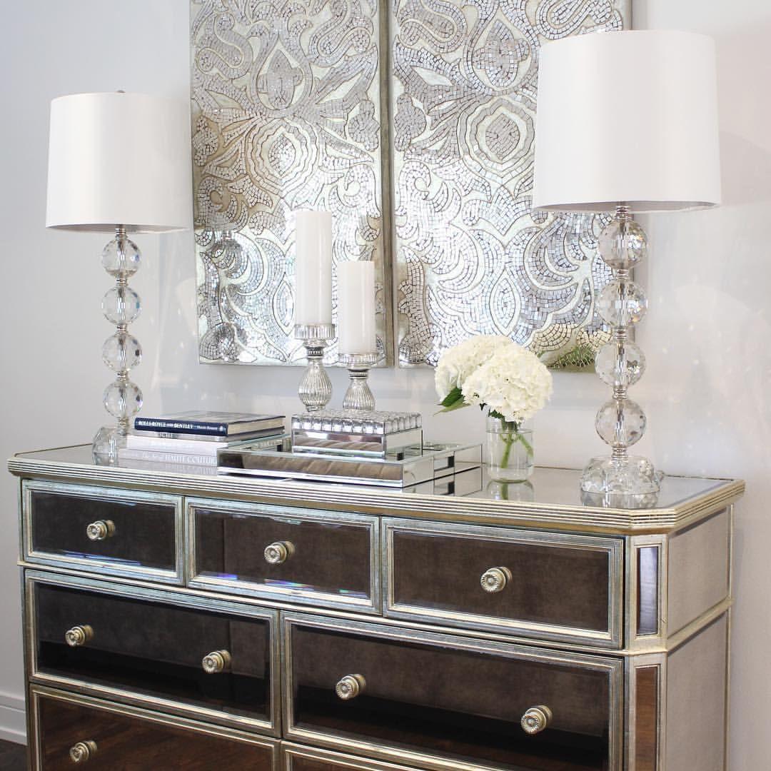 Z Gallerie Glam Home Decor Inspo Console Sideboard | Hello ...