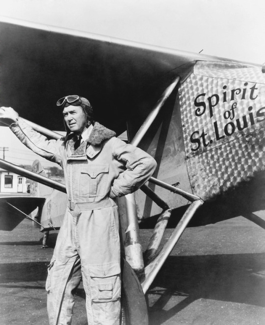James Stewart in a publicity photo for The Spirit of St. Louis (Billy  Wilder, 1957), the story of Charles Lindbergh's trans-At… | Charles  lindbergh, Louis, St louis