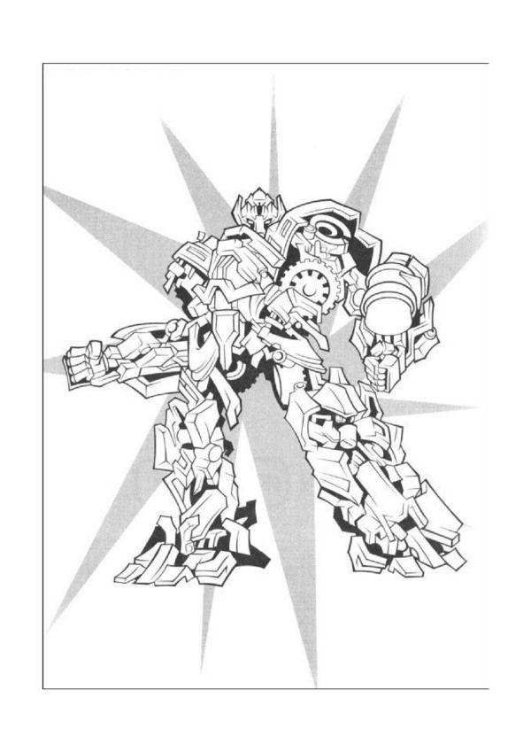 Dibujos para Colorear Transformers 20 | Dibujos para colorear para niños