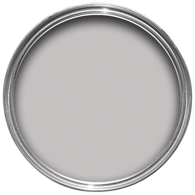 Crown petit palais matt emulsion eglise grey 2 5l paint - Crown paint colours for living room ...