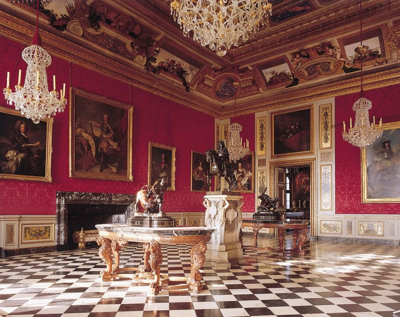 Image result for interior of Vaux le Vicomte