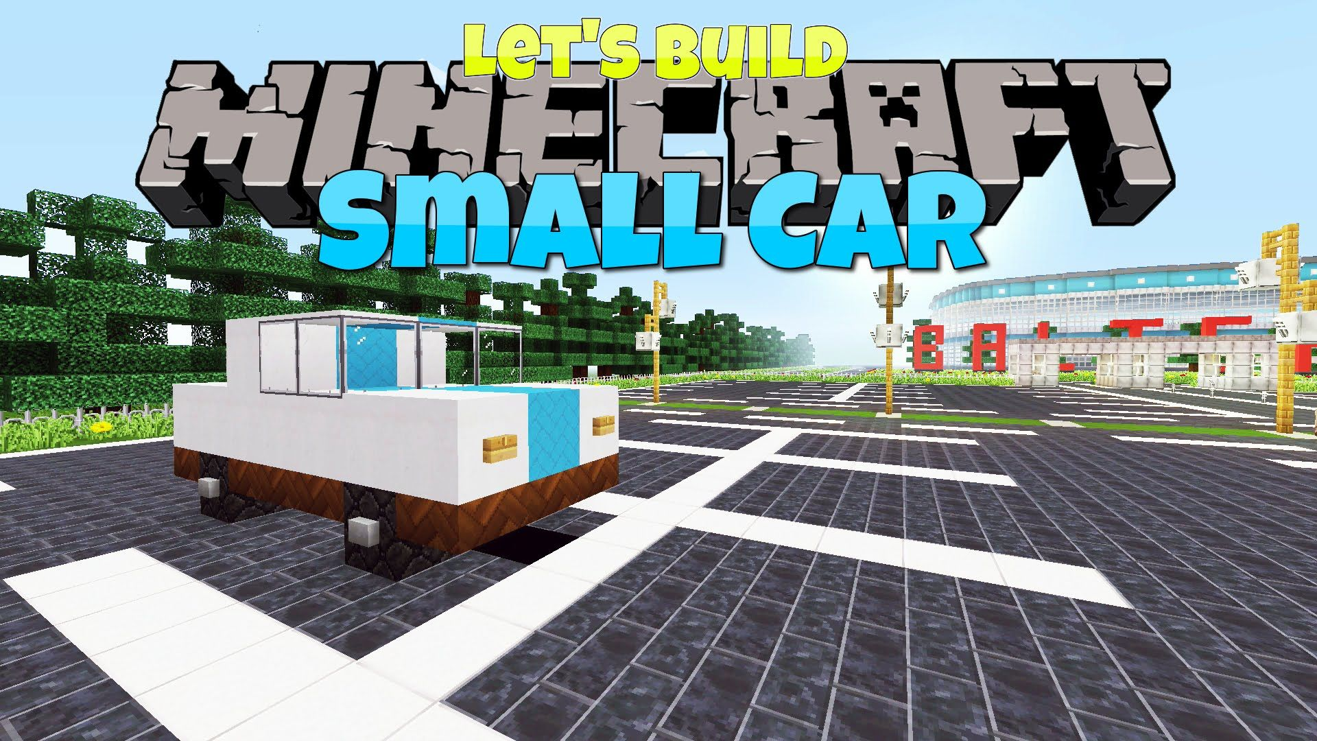 Minecraft Small Car Let S Build Future Crafts Minecraft Car