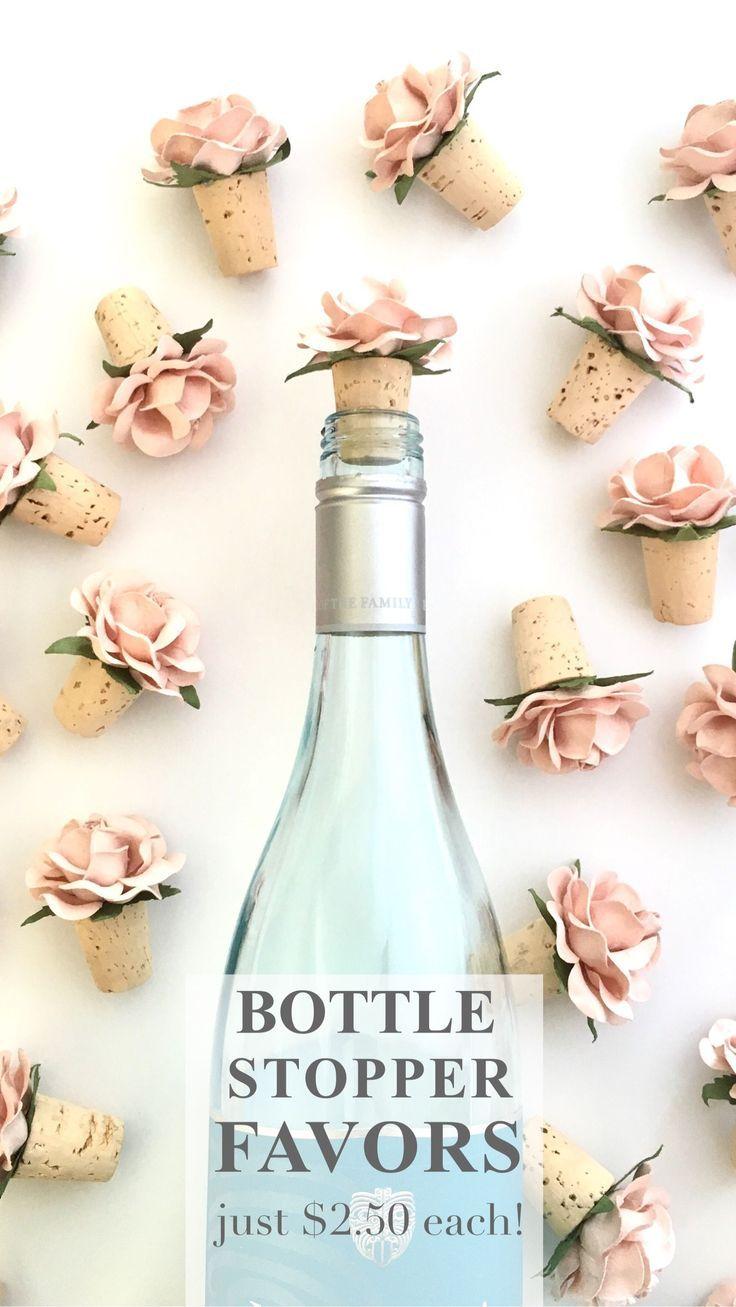 Bottle Stopper Wedding Favors | Unique wedding favors, Unique ...
