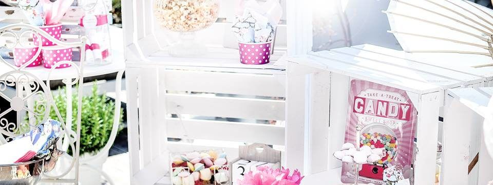 Candy Bar Vintage, Candy Bar Dekorieren, Candy Bar Zubehör, Candy ...
