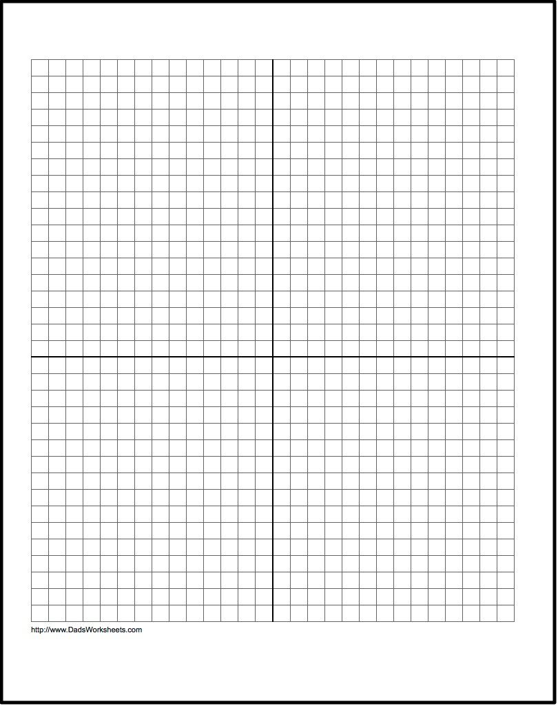 worksheet Graph Paper With Numbers our free printable graph paper contains both metric and customary dimensions in several sizes