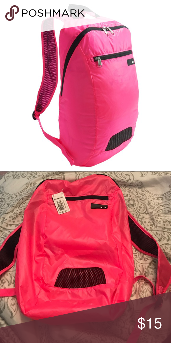 487dbdc5c4a2 Oakley Packable Backpack Packable backpack Neon pink Never used ...