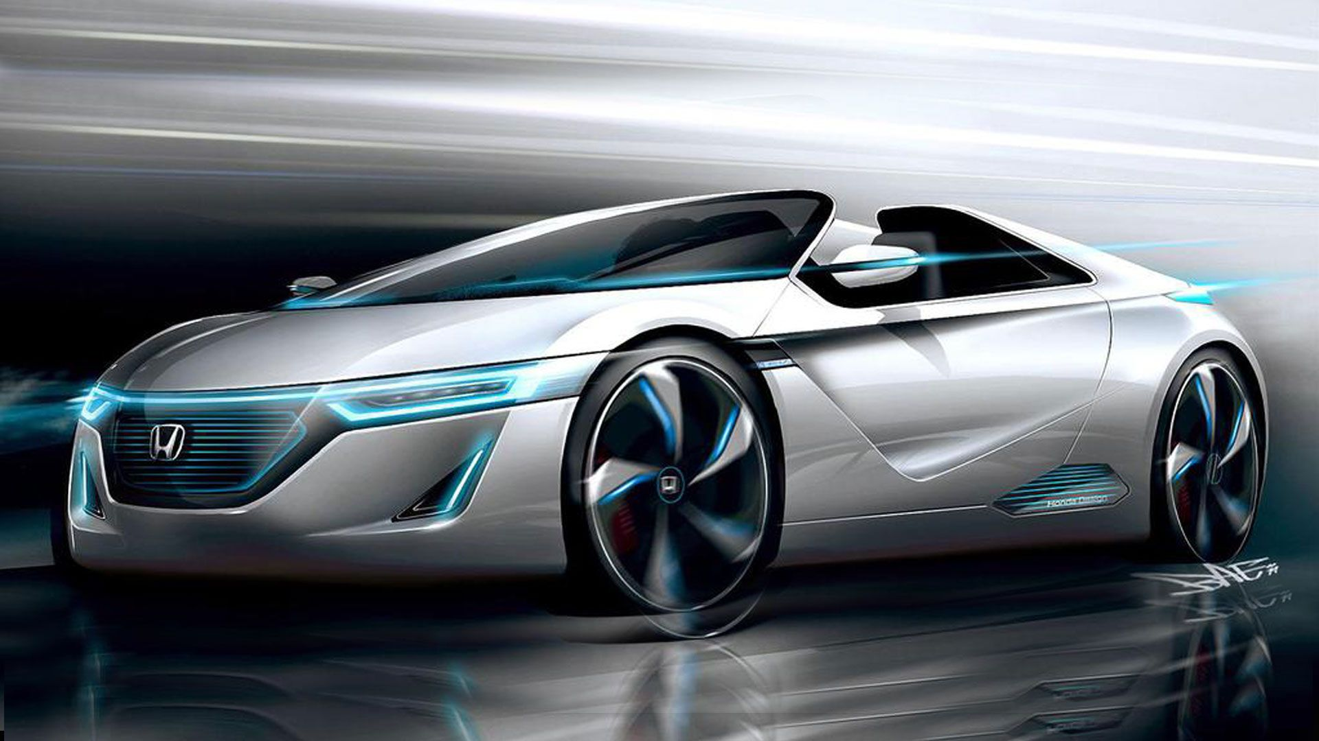 Honda Electric Car Hd Pics Http Wallucky Com Honda Electric