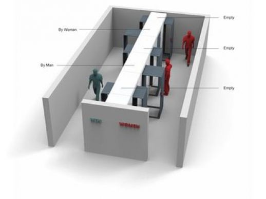 Unisex Toilet Design Opens Up More Stall Space In Public Restrooms Extraordinary Unisex Bathroom