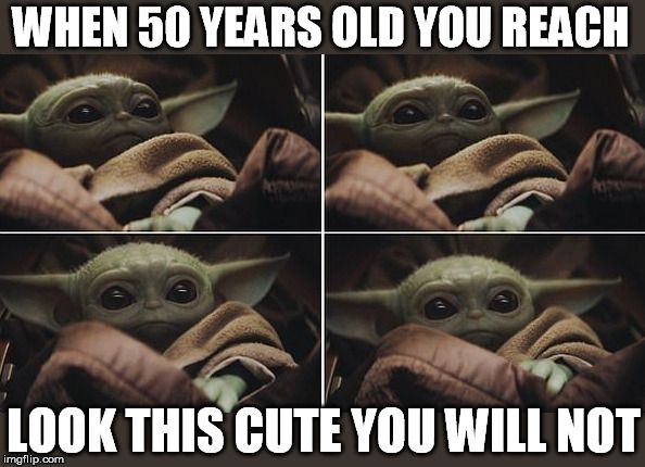 I Am Absolutely In Love With Baby Yoda I Know It Isn T Yoda But Until We Know The Name Of The Baby Or The Name Of Yoda Meme Star Wars