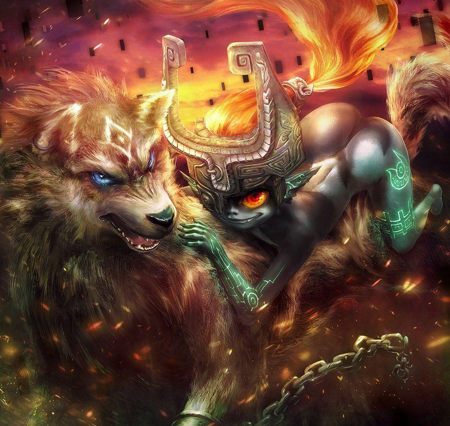 Wolf Link and Midna by yuqoi #deviantart #TwilightPrincess | A ...