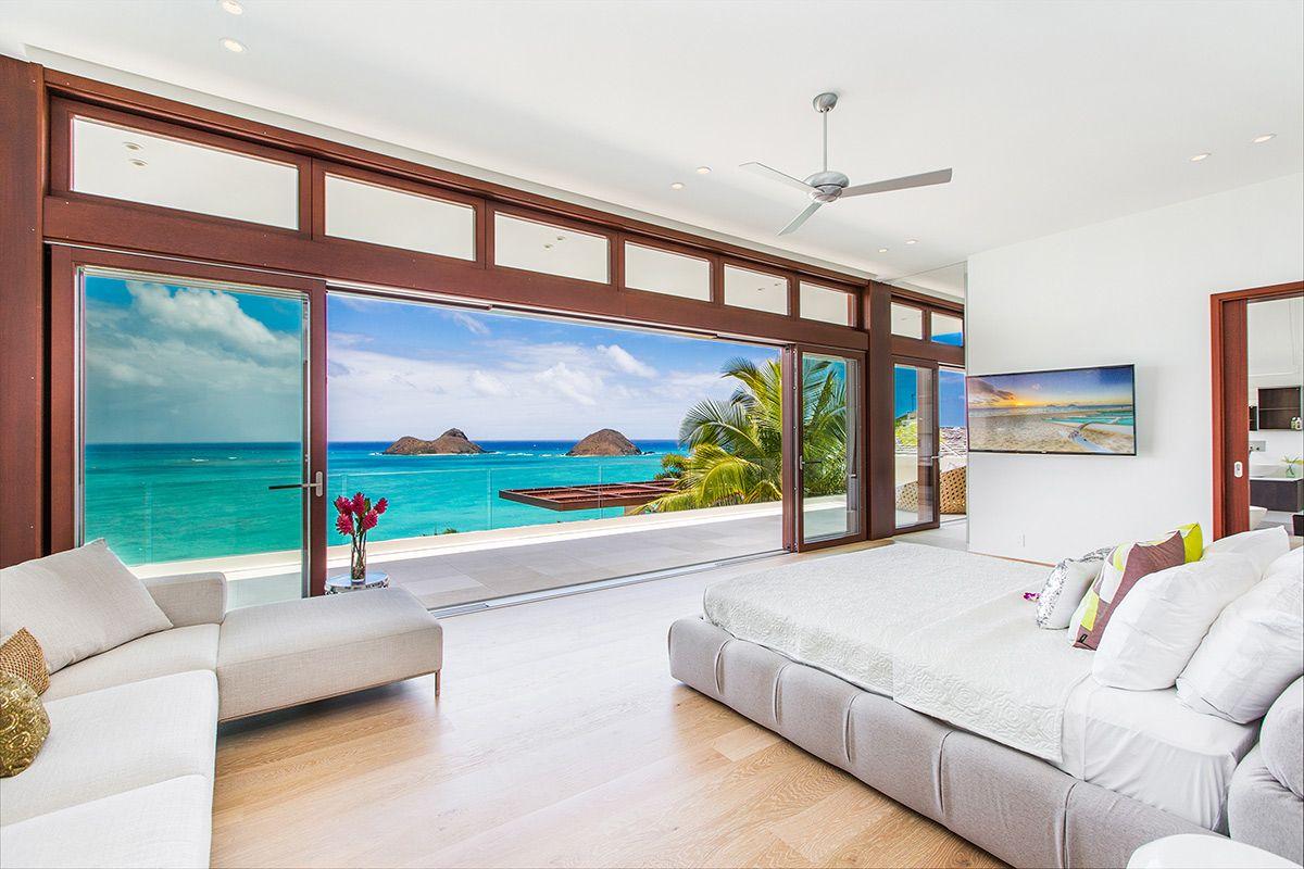 Bedroom Furniture Oahu 5 stunning bedroom designs - lanikai hillside estate, oahu