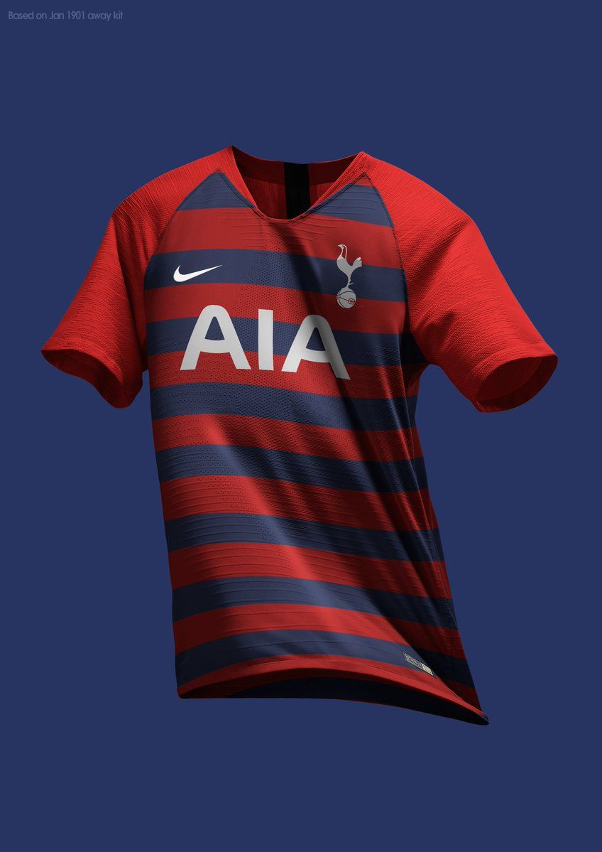 2508685f6 Stunning Nike Tottenham 19-20 Home, Away & Third Concept Kits by MZA -  Footy Headlines