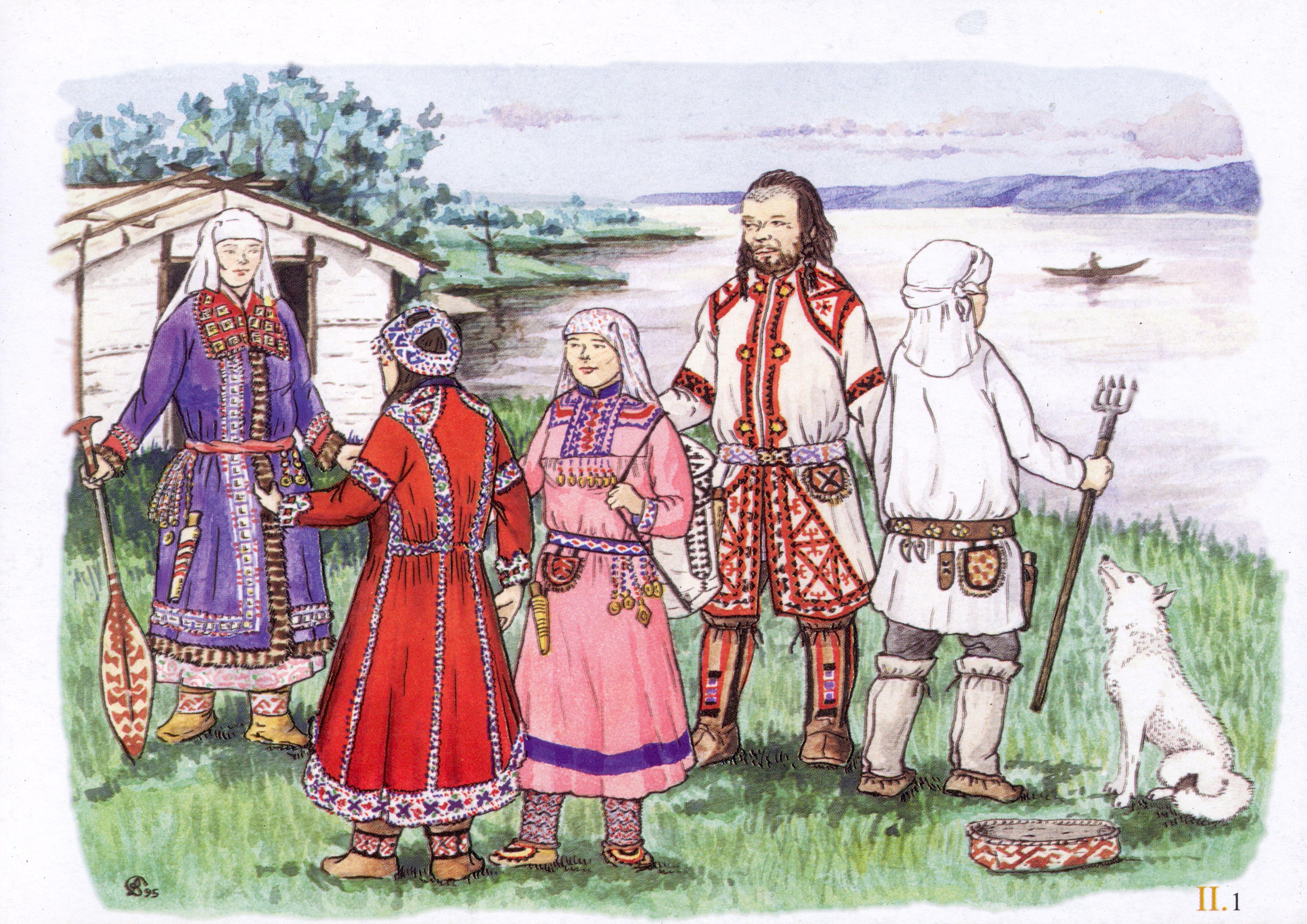 Картинки ханты и манси в национальных костюмах